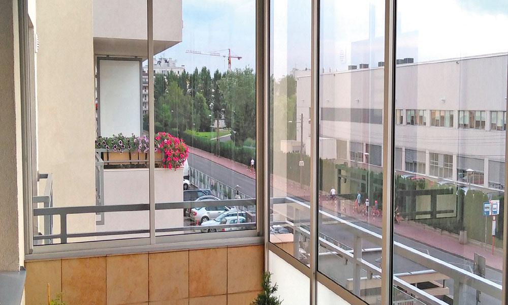 Zabudowa balkonu 4 Kobylka