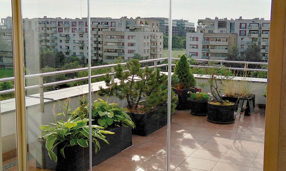 Zabudowa balkonu 6 Kobylka