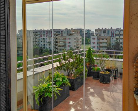 Zabudowa balkonu 38